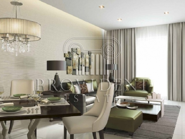 Damac Vantage, JVC - Living and Dining Area