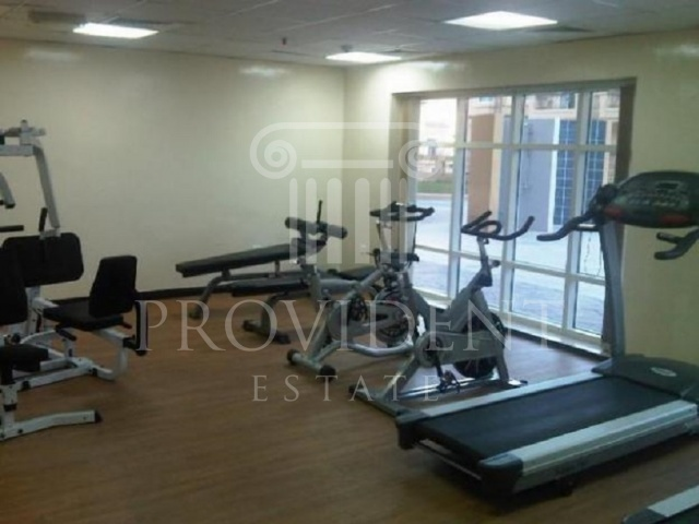Gym - Diamond Views_Jumeirah Village Circle